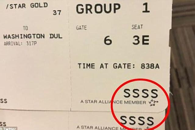 Sabes qué significa el código SSSS en tu tarjeta de embarque?