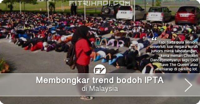 Bongkar Trend Bodoh Universiti di Malaysia