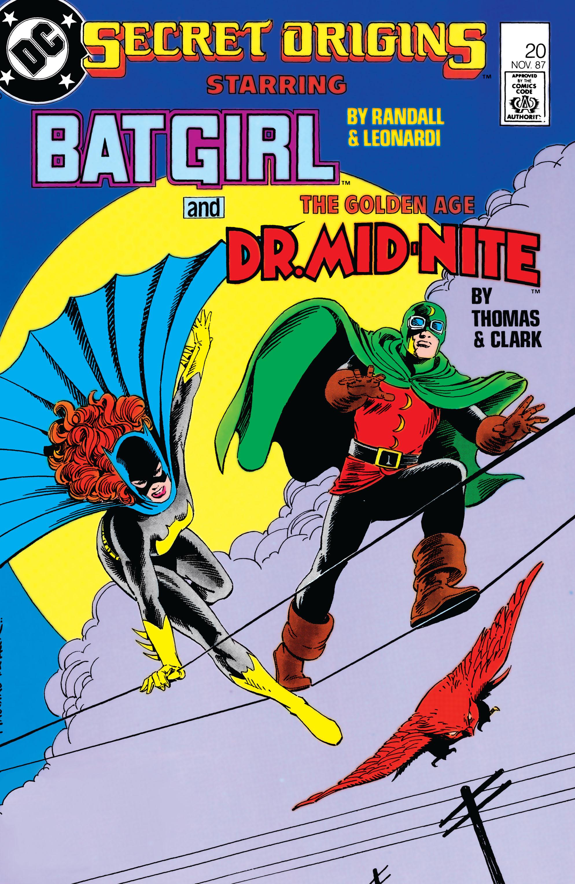Read online Secret Origins (1986) comic -  Issue #20 - 1