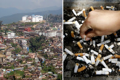 Nagaland's capital Kohima declared 'smoke-free city'