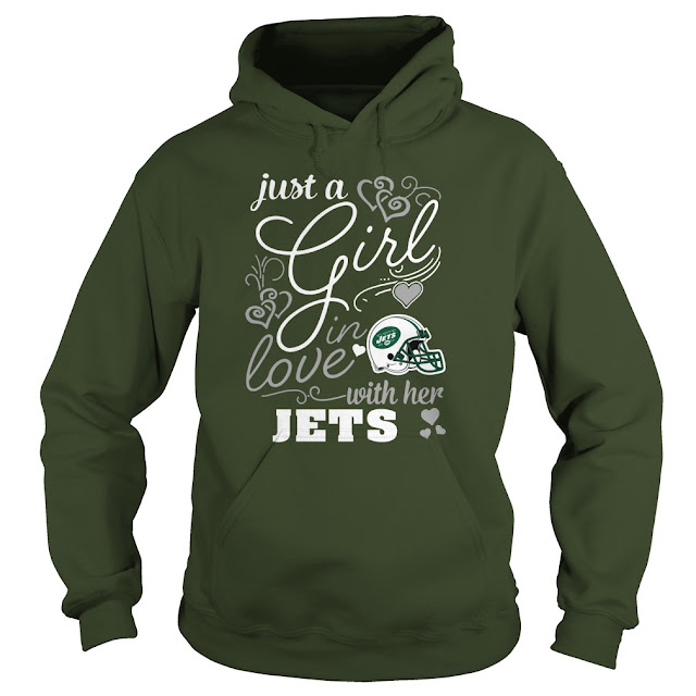 New York Jets - Just A Girl In Love With Her Shirt
