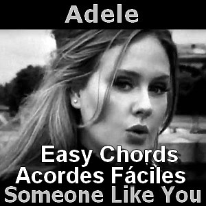Adele - Someone Like You (easy - facil) - Acordes D Canciones