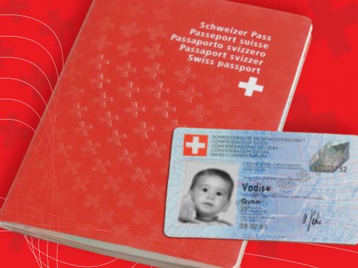 Carte Identite Suisse.Photos Pour Passeports Et Cartes D Identite Du Bebe