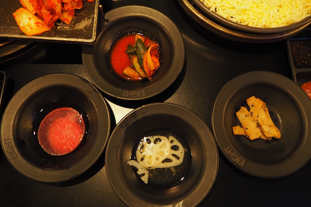 8 Korean BBQ Clarke Quay Side Dishes