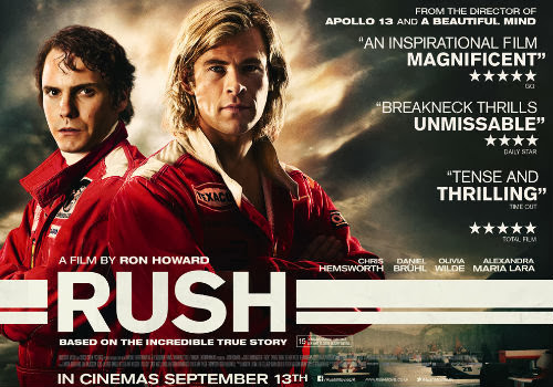 Rush - Ron Howard - Chris Hemsworth - Film Review
