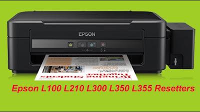 Epson L100 L210 L300 L350 L355 Resetter