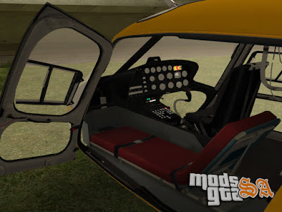 EMB Eurocopter Ecureuil AS-350 para GTA San Andreas