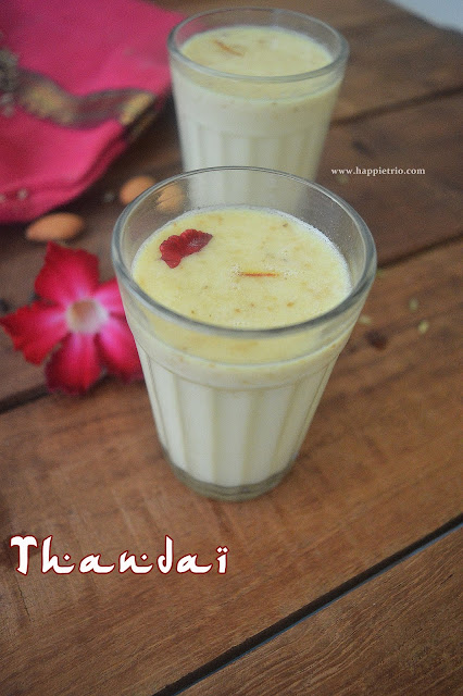 Thandai Recipe | How to make Thandai in home