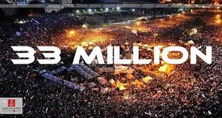 A világ történelem legnagyobb tüntetése Egyiptomban