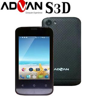 Spesifikasi dan Harga Advan Vandroid S3D