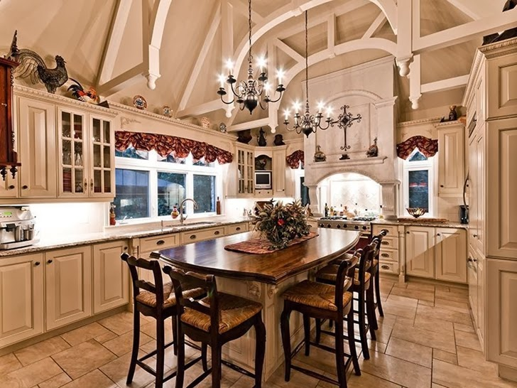 Kitchen in Outstanding custom built house in Canada