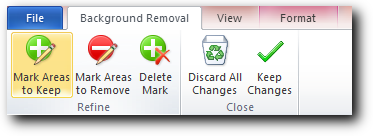Background removal tools