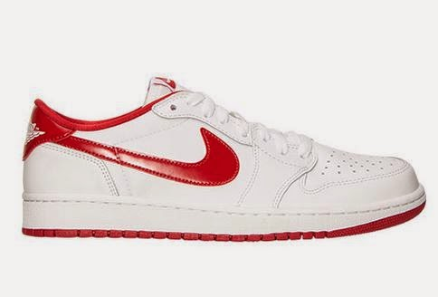 66a3717352d39 Air Jordan 1 OG Low Varsity Red Sneaker Available Now (Detailed Look with  Dj Delz). Here is a ...