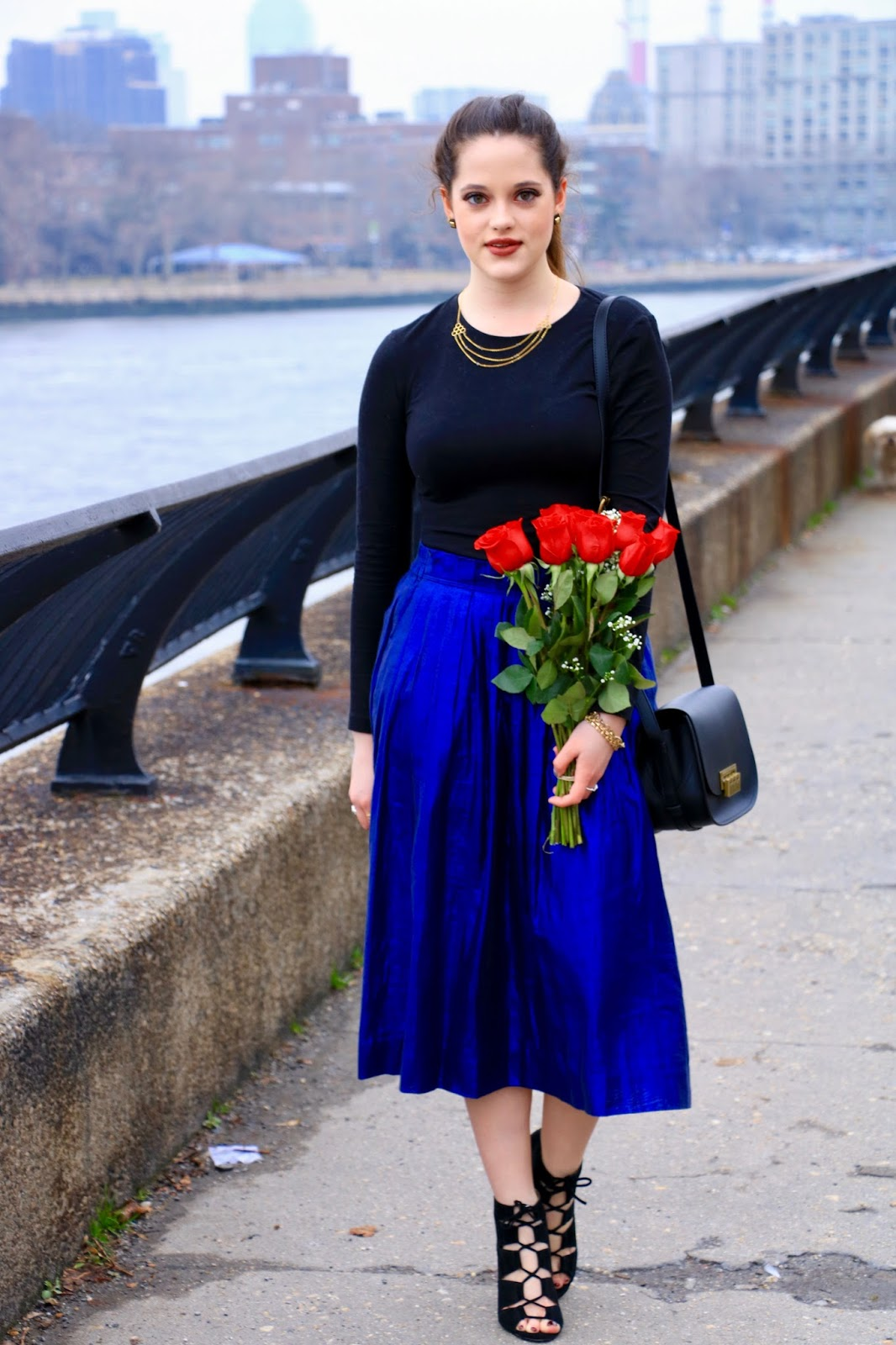 fashion blog date night outfit