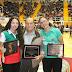 Paulina y Dora Meza, mundialistas 2014 reciben reconocimiento por autoridades
