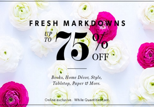 Chapters Indigo Fresh Markdowns Up To 75% Off Books, Home Decor, Style, Tabletops, Paper & More