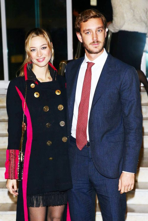 Pierre Casiraghi and his wife Beatrice Casiraghi