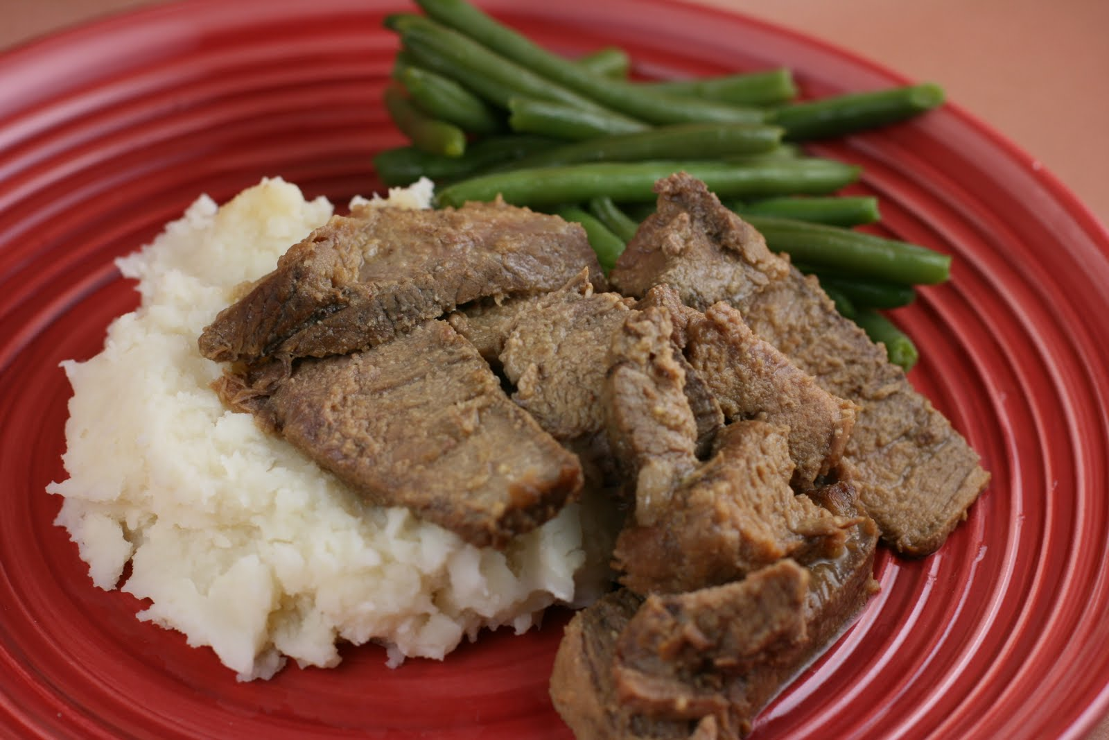 Sweet Mustard Roast (beef or pork) Slow Cooker Recipe - A