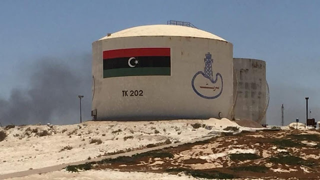A produção de petróleo da Líbia subiu para mais de 1 milhão de barris por dia, o membro da OPEP procura aumentar a produção ainda mais nos próximos dois meses