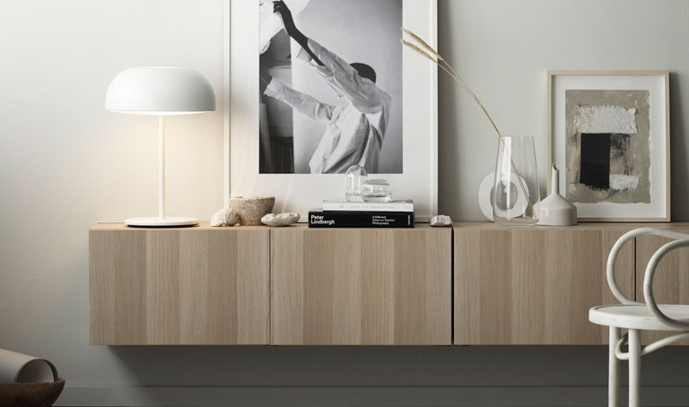 Credenza Sospesa Ikea : Nuove soluzioni per la classica serie bestÅ di ikea arc art