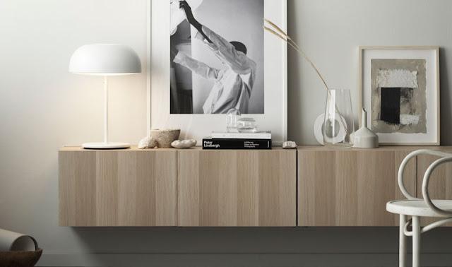 Ikea Credenza Rovere : Nuove soluzioni per la classica serie bestÅ di ikea arc art