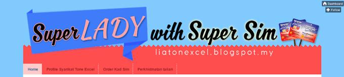 Design Blog SuperLady with Super Sim