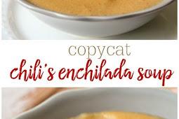 Copycat Chili's Chicken Enchilada Soup Recipe
