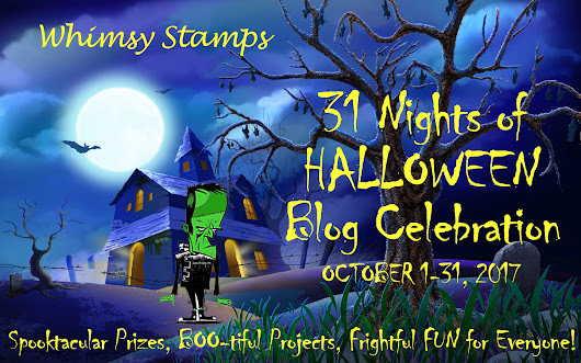 Whimsy Stamps 31 Nights of Halloween GRAND PRIZE Entry