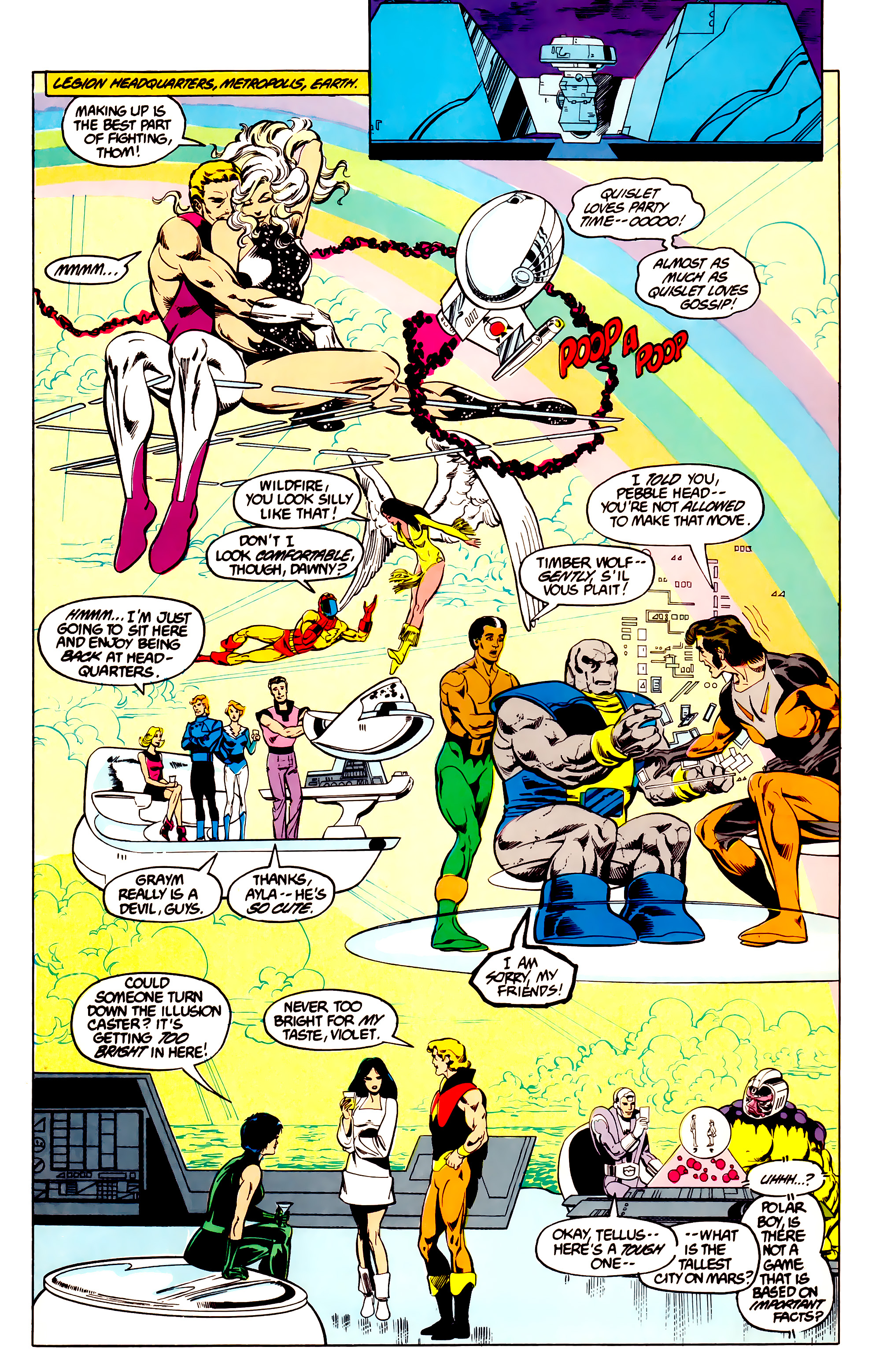 Legion of Super-Heroes (1984) 27 Page 23