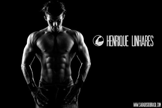 Henrique Linhares, atleta Men's Physique, mostra shape trincado em ensaio
