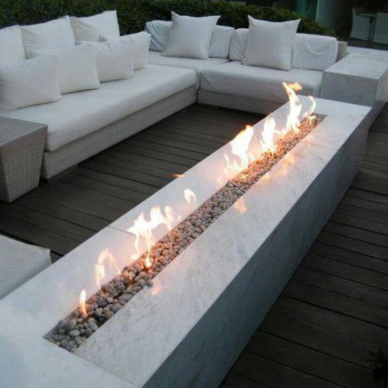 Estufas y chimeneas para terrazas de invierno