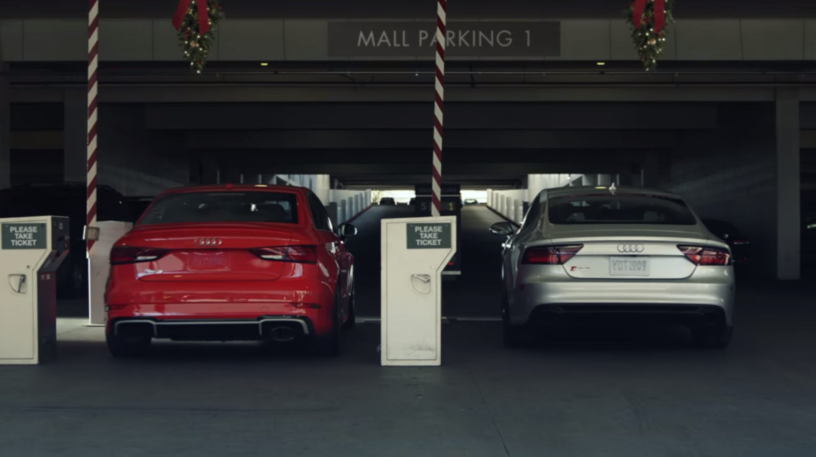 Audi Revs Up Its Holiday Campaign With Two Dads Racing To Get The - Audi car lot