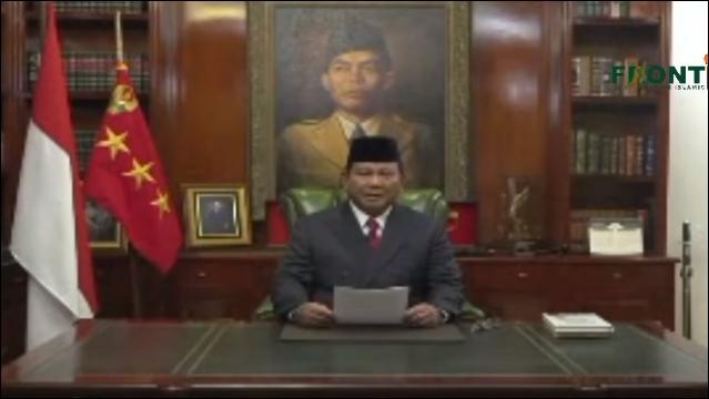 Himbauan Prabowo kepada Seluruh Pendukung dan Relawannya di Indonesia
