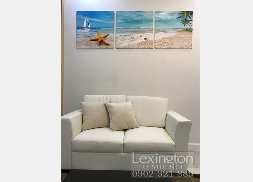 cho thuê căn hộ Lexington 1PN - Ghế tại phòng khách