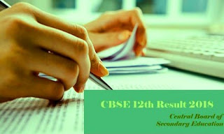CBSE 12th 2018 Result | CBSE Class XII Result 2018