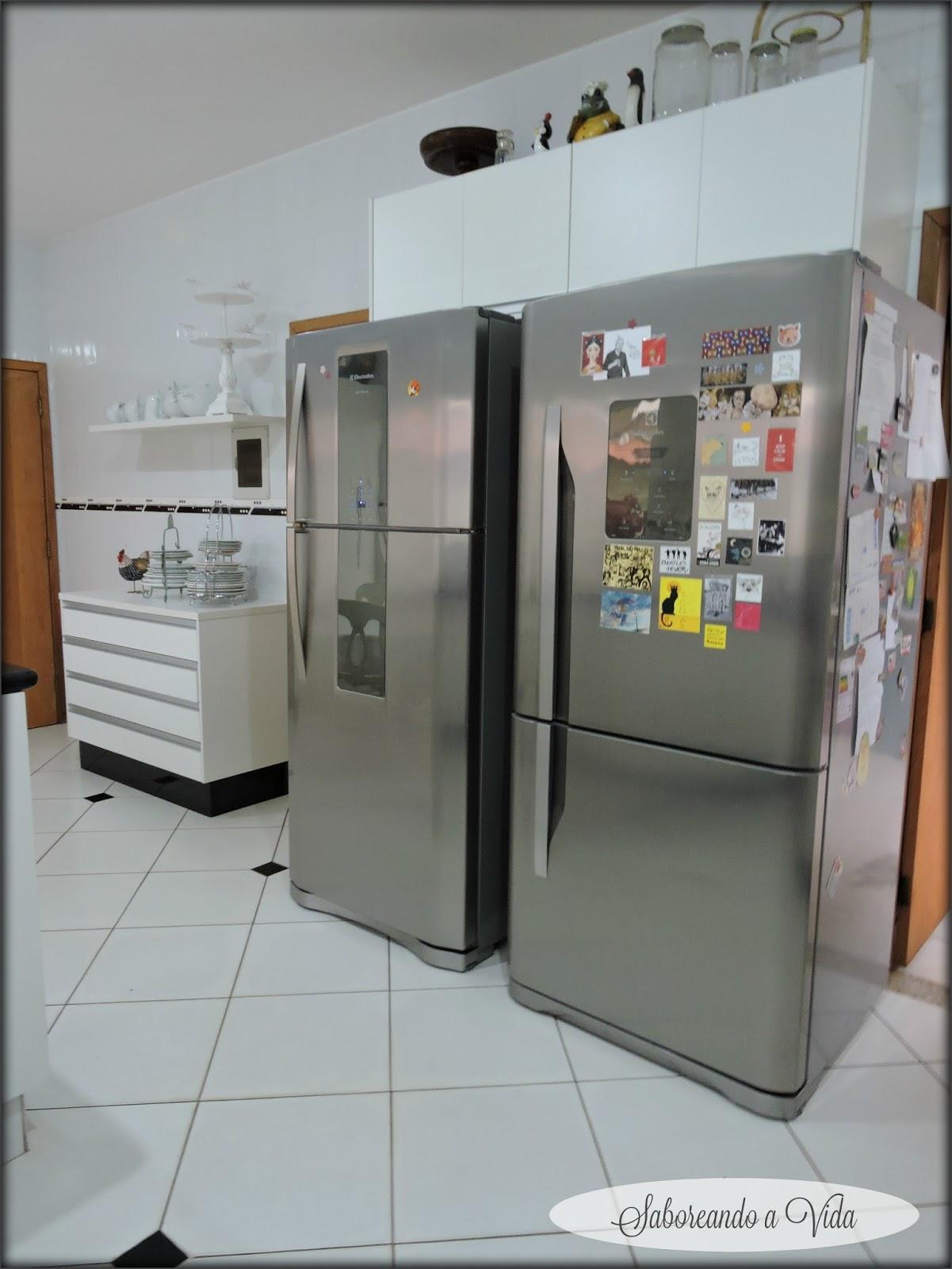 saboreando a vida: Minha Cozinha e Uma idéia de último minuto para o  #6C462C 1201 1600