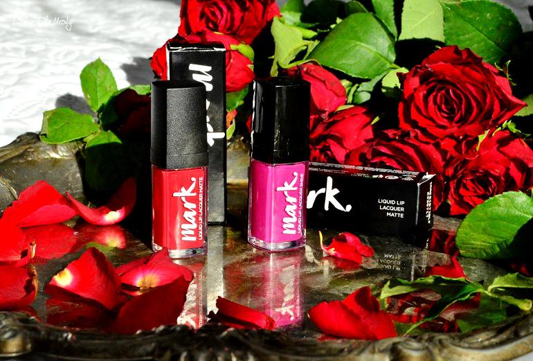 Mark. Liquid Lip Lacquer - matowa czy błyszcząca? Nowe szminki w płynie od Avon