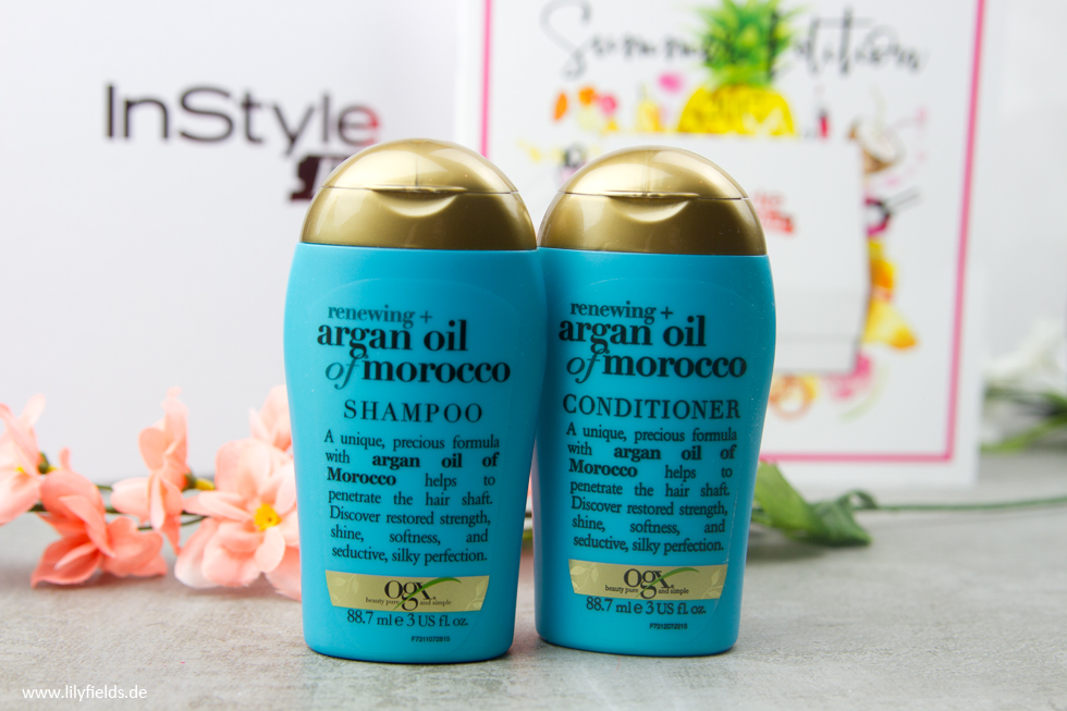 OGX - Argan Oil of Morocco renewing Shampoo & Conditioner