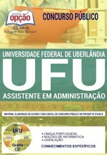 Download Apostila Concurso UFU 2019 PDF