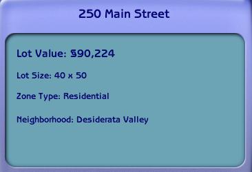 Twoflower S Sims 2 Lots 250 Main Street Aspir House Makover