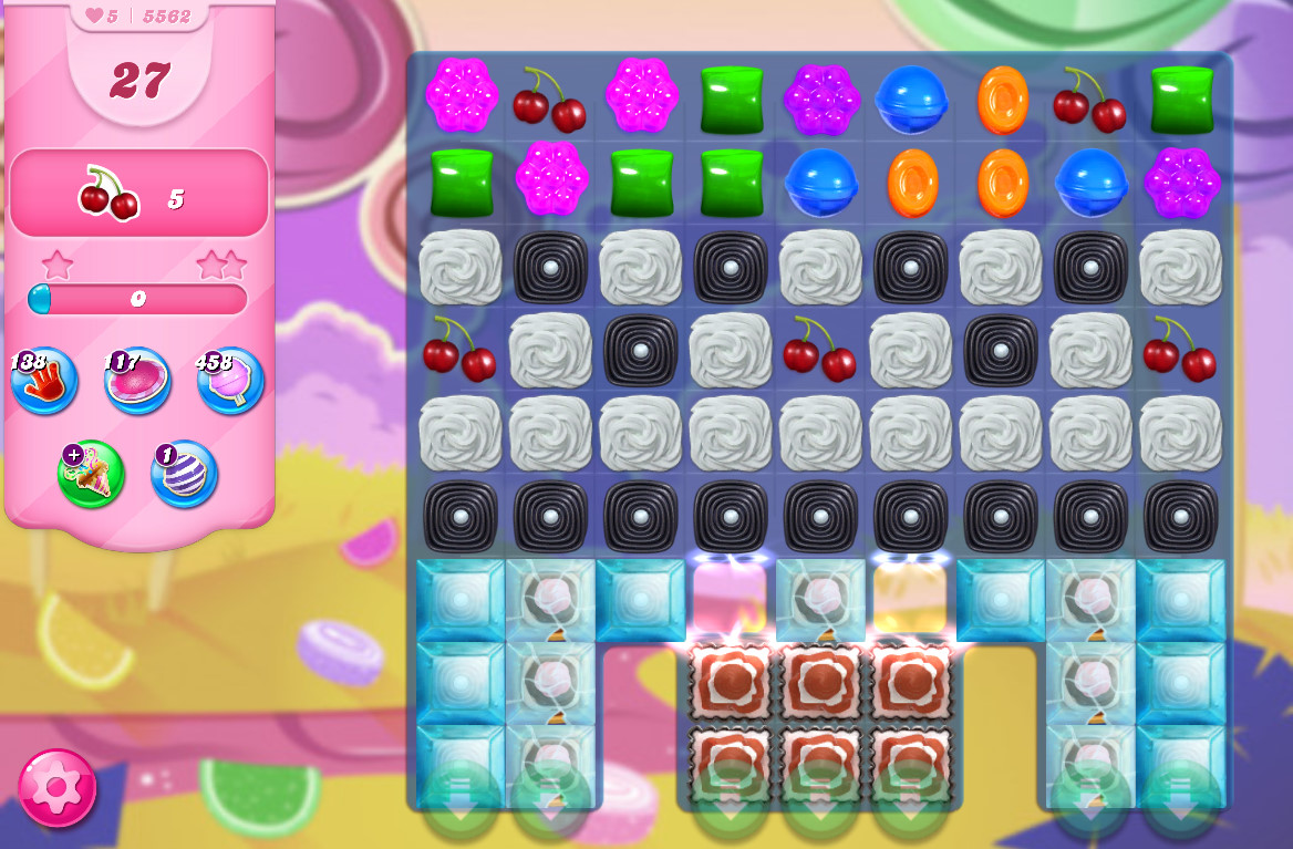 Candy Crush Saga level 5562