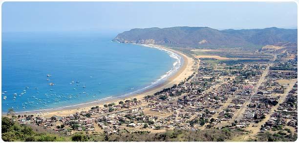 foto de la playa en Ecuador