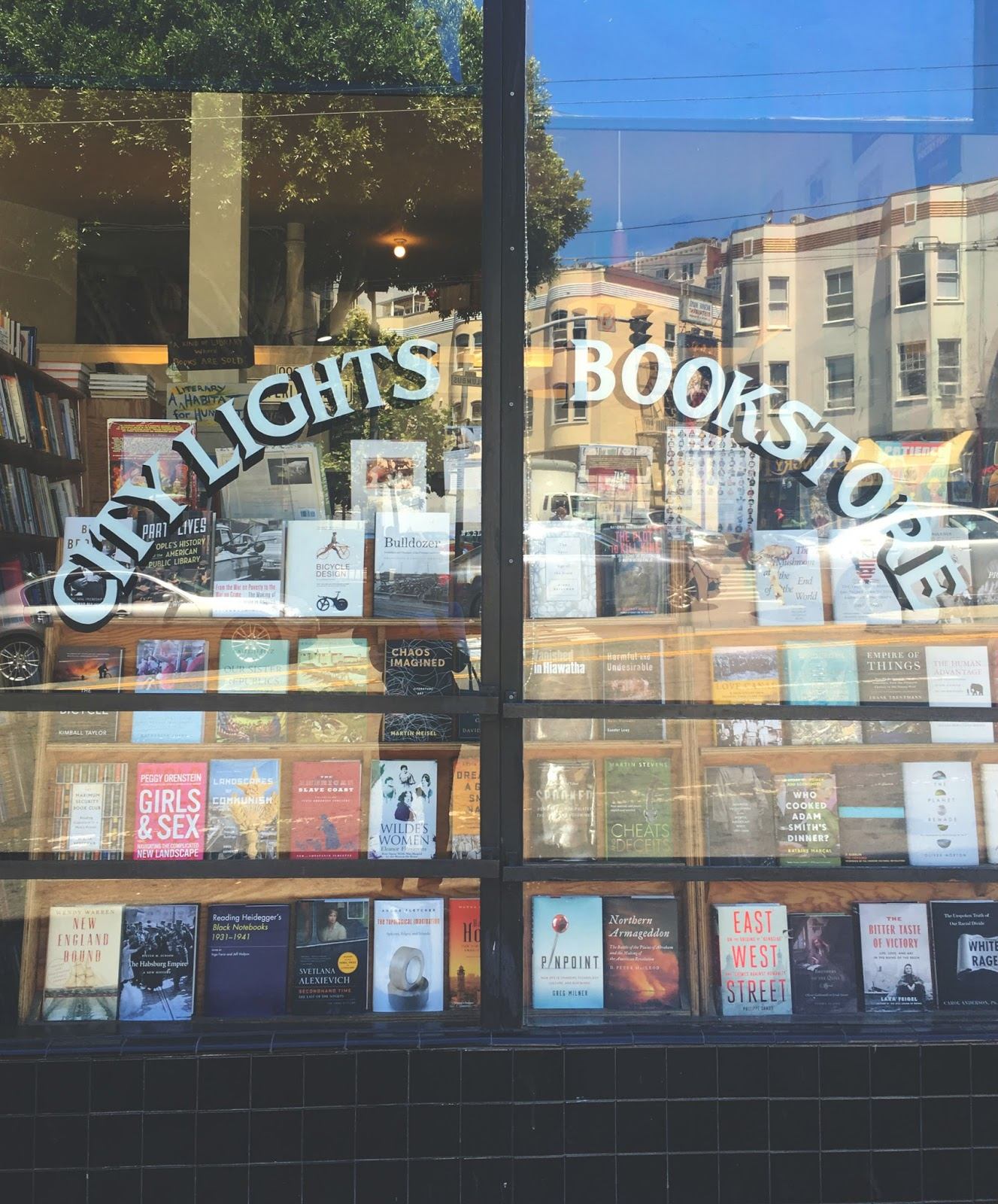 City Lights Book Store in San Francisco, California