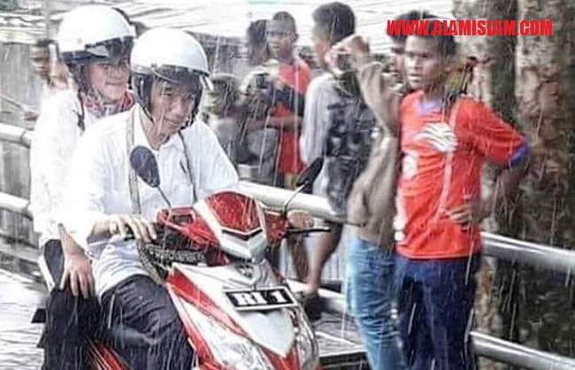 Belum pernah ada politisi yang totalitas dalam proyek pencitraan diri seperti Jokowi.