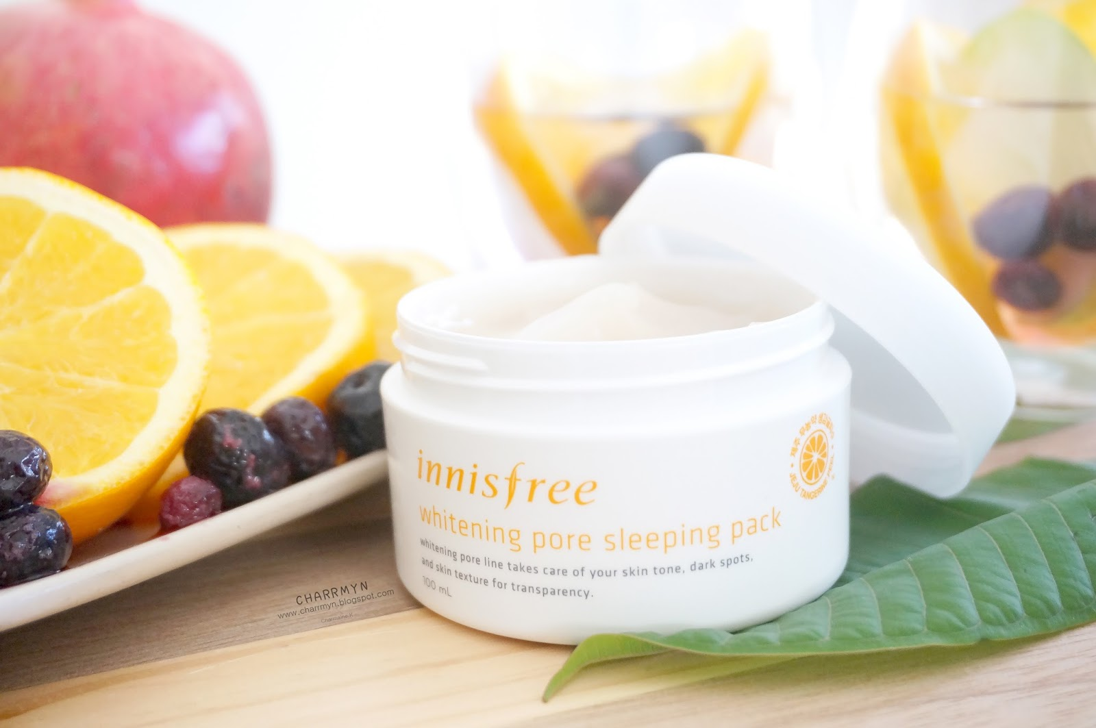 how to use innisfree sleeping pack