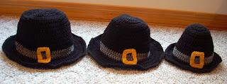 Crochet Pilgrim Hat