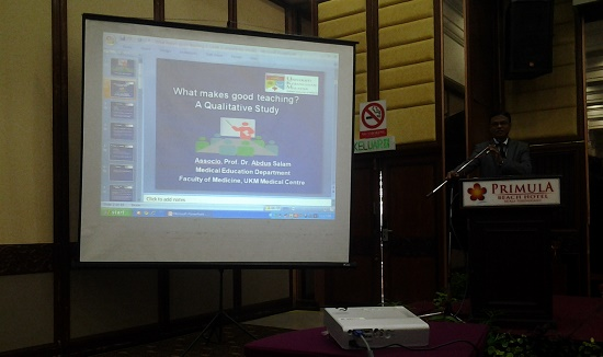 Presenting What Makes Good Teaching? at ICQTL-2012, Malaysia