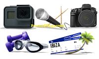 Logo Tampax premia la tua estate: vinci fotocamere, videocamere, weekend e altro ancora