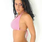 Andrea Rincon, Selena Spice Galeria 7 : Cachetero Blanco, Tanga Blanca, Top Bikini Rosado Foto 140