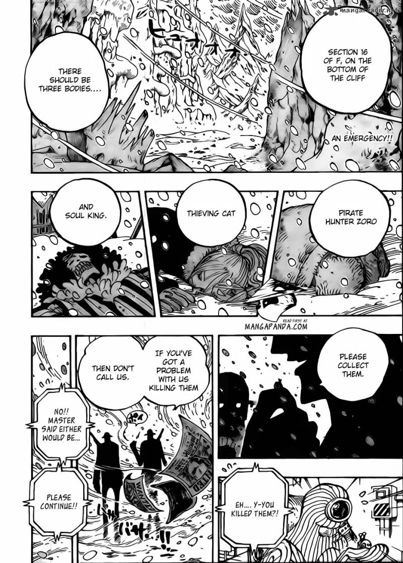 One Piece 666 Yeti Cool Brothers